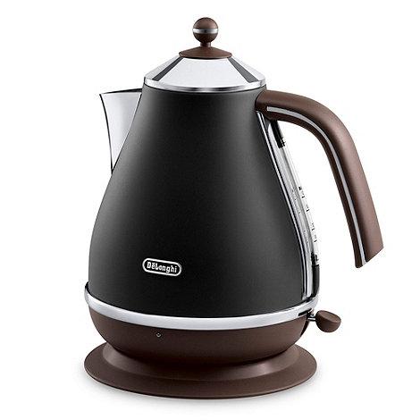 DeLonghi - Black KBOV3001.BK Vintage Icona jug kettle