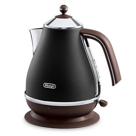 DeLonghi - Brown +Vintage Icona+ kettle KBOV3001.BW