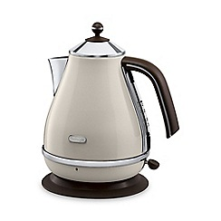 DeLonghi - Cream 'Icona' kettle V3001.BG