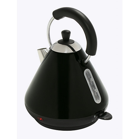 Debenhams - Black +DEB52619+ Pyramid kettle