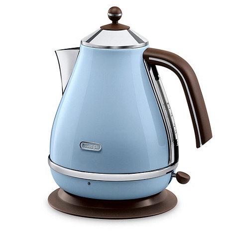 DeLonghi - Blue +KBOV3001AZ+ vintage Icona jug kettle