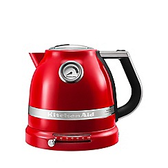 KitchenAid - Empire Red temperature control kettle 5KEK1522BER