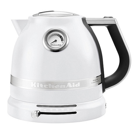 KitchenAid - Frosted Pearl' temperature control kettle 5KEK1522BFP