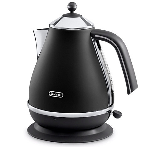 DeLonghi - Black 'KBOV3001.BK1' 'Vintage Icona' kettle