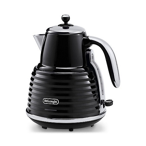 DeLonghi - 'Scultura' KBZ3001.BL black kettle