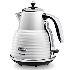 DeLonghi - 'Scultura' KBZ3001.W white kettle