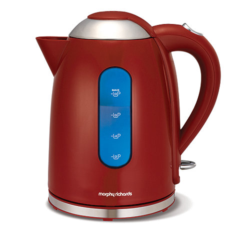Morphy Richards - Accents 102504 red jug kettle
