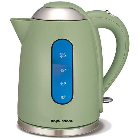 Morphy Richards - Accents 102501 sage jug kettle