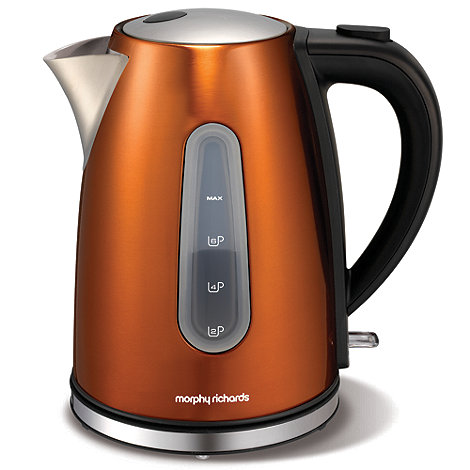 Morphy Richards - Accents 102601 copper jug kettle