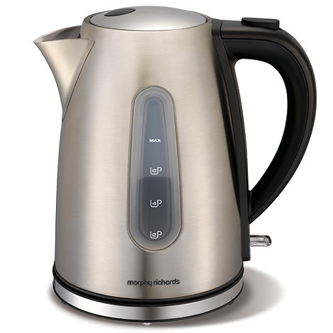Morphy Richards - Brushed stainless steel kettle 43902