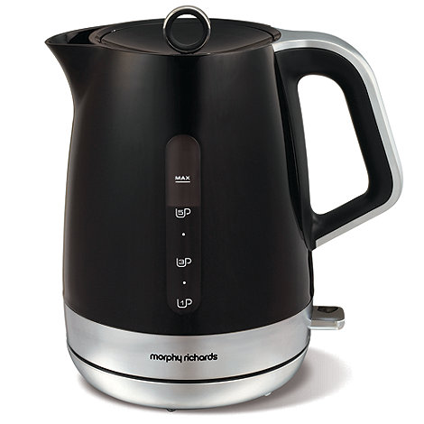Morphy Richards - Black Chroma '101404' jug kettle