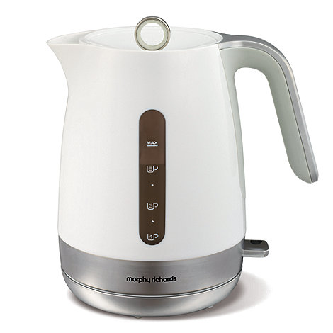 Morphy Richards - White Chroma +101401+ jug kettle