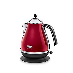 DeLonghi - Red 'MicaLite' KBOM3001.R kettle