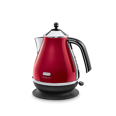 DeLonghi - Red +MicaLite+ KBOM3001.R kettle