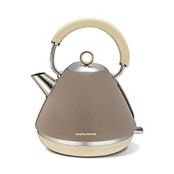 Morphy Richards - Retro accents kettle - barley 102012