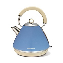 Morphy Richards - Blue 'Retro Accents kettle 102010