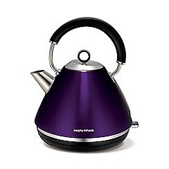 Morphy Richards - Plum 'Accents' kettle 102020