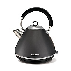 Morphy Richards - Debenhams exclusive - Accents Traditional Kettle Titanium