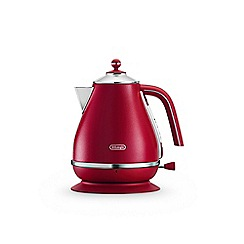 DeLonghi - Flame red 'Elements' kettle KBOE3001.R