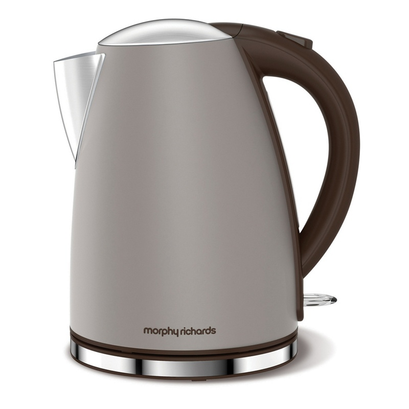 Morphy Richards – Taupe 'Accents' Jug Kettle 103004