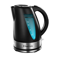 Russell Hobbs - Ebony matt black jug kettle 15076