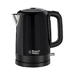 Russell Hobbs - Black 'Canterbury' jug kettle 20613