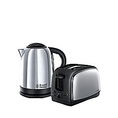 Russell Hobbs - 'Lincoln' kettle and toaster twin pack 21830