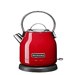 KitchenAid - Empire red 1.25L electric kettle 5KEK1222BER