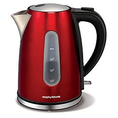 Morphy Richards - Red 'Accents' jug kettle 43904