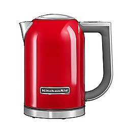 KitchenAid - Empire Red Finish 1.7 Litre Jug Kettle KEK1722BER