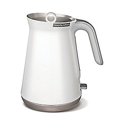 Morphy Richards - White 'Aspect' kettle 100003
