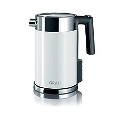 Graef - White perfect temperature kettle wk701uk