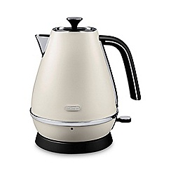DeLonghi - Distinta 1.7l kettle pure white kbi3001.w