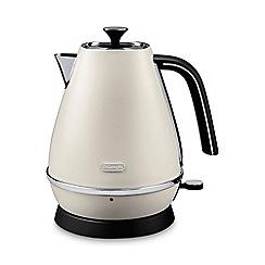 DeLonghi - Distinta 1.7l kettle pure white kbi3001.w