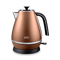 DeLonghi - Distinta 1.7l kettle style copper kbi3001.cp