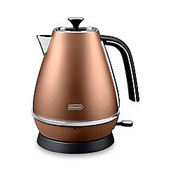 DeLonghi - Distinta 1.7l kettle style copper kbi3001.cp
