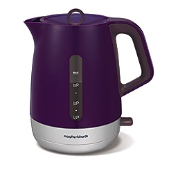 Morphy Richards - Chroma jug kettle - plum 101208