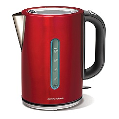 Morphy Richards - Red 'elipta'  jug kettle 102751
