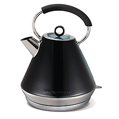Morphy Richards - Black 'elipta' traditional kettle 43952