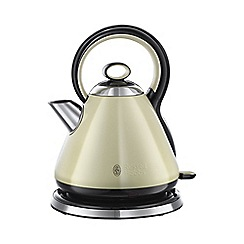 Russell Hobbs - 'Legacy' kettle in cream 21882