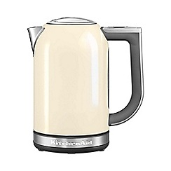 KitchenAid - Almond cream 1.7 Litre Jug Kettle KEK1722BAC