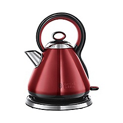 Russell Hobbs - 'Legacy' kettle in red 21881