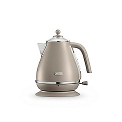 DeLonghi - Sand beige 'Elements' kettle KBOE3001.BG