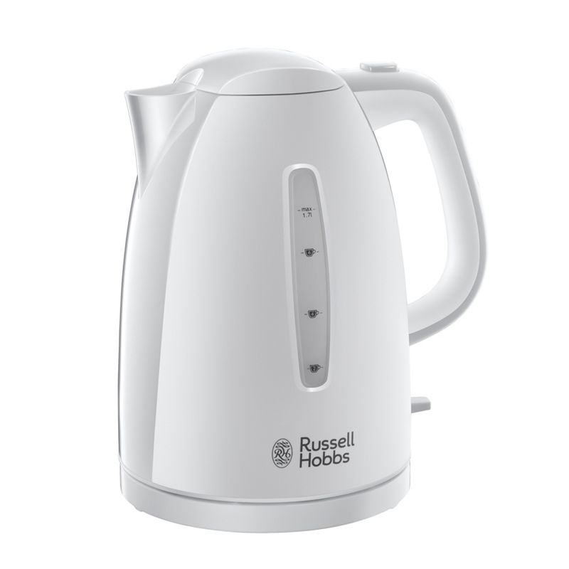 Russell Hobbs – White 'Textures' Kettle 21270