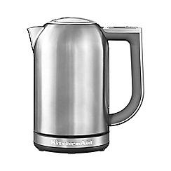 KitchenAid - Stainless steel 1.7 Litre Jug Kettle KEK1722BSX