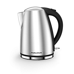 Morphy Richards - Brushed Stainless Steel 'Accents' jug kettle 103005