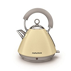 Morphy Richards - Cream 'Accents' traditional kettle 102032