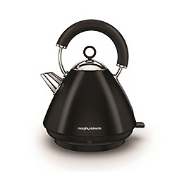 Morphy Richards - Black 'Accents' traditional kettle 102030