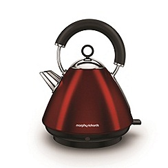 Morphy Richards - Red 'Accents' traditional kettle 102029