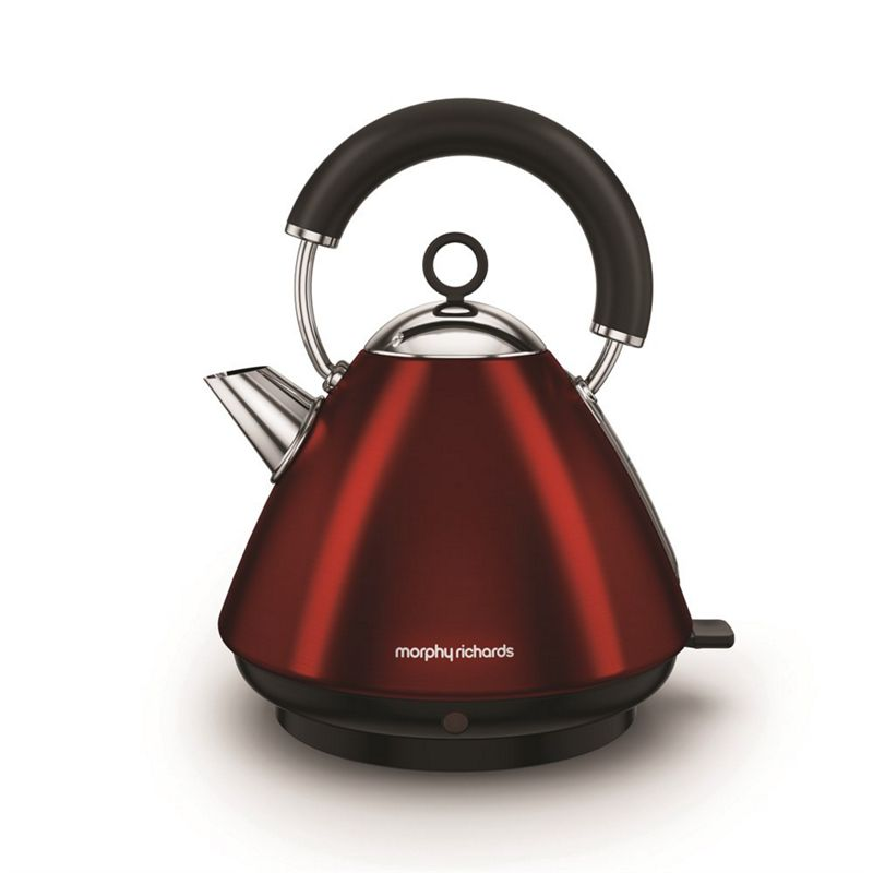 Morphy Richards – Red 'Accents' Traditional Kettle 102029